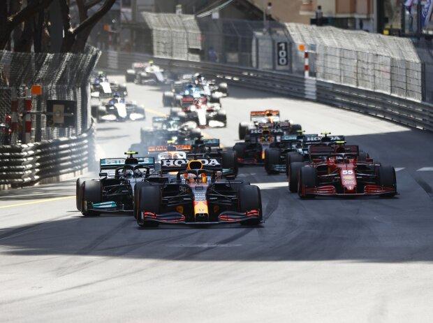 Max Verstappen, Valtteri Bottas, Carlos Sainz