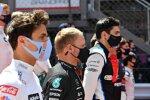 Lando Norris (McLaren), Valtteri Bottas (Mercedes) und Esteban Ocon (Alpine)