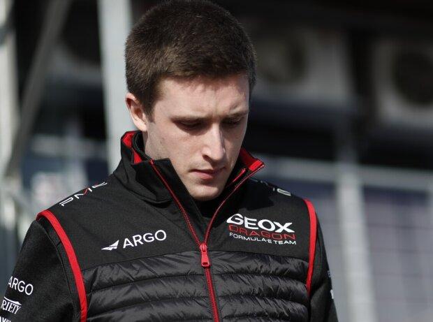 Joel Eriksson beim Rookie-Test der Formel E 2020 in Marrakesch