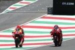 Marc Marquez (Honda) und Francesco Bagnaia (Ducati)
