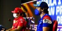 Fernando Alonso, Carlos Sainz