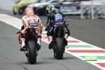 Maverick Vinales (Yamaha) und Marc Marquez (Honda)