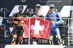 Miguel Oliveira (KTM), Fabio Quartararo (Yamaha) und Joan Mir (Suzuki)