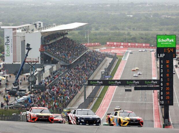 NASCAR-Action auf dem Circuit of The Americas in Austin