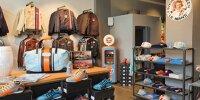 Paddock Legends Retail Store in der Motorworld München
