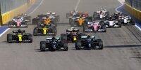 Formel-1-Start in Sotschi/Russland 2020