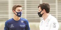 George Russell, Toto Wolff