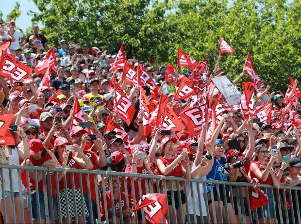 Fans von Marc Marquez in Barcelona