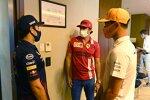 Sergio Perez (Red Bull), Carlos Sainz (Ferrari) und Lando Norris (McLaren)
