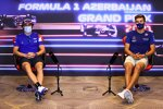 Fernando Alonso (Alpine) und George Russell (Williams)