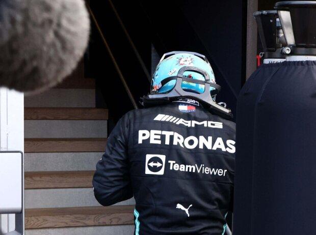 Valtteri Bottas nach seinem verpatzten Boxenstopp beim Grand Prix von Monaco 2021