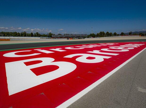 Neue Kurve 10 am Circuit de Barcelona-Catalunya