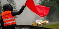 Streckenposten, Sportwart, Rote Flagge, Abbruch