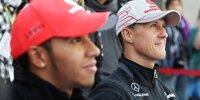 Lewis Hamilton, Michael Schumacher
