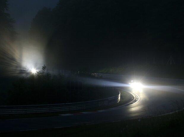 Nürburgring-Nordschleife im Nebel