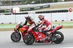 Miguel Oliveira (KTM) und Johann Zarco (Pramac)