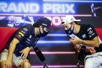 Sergio Perez (Red Bull) und Pierre Gasly (AlphaTauri)
