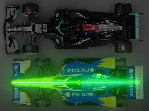 Vergleich: Formel 1 vs. IndyCar
