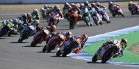 Moto3 Start in Jerez