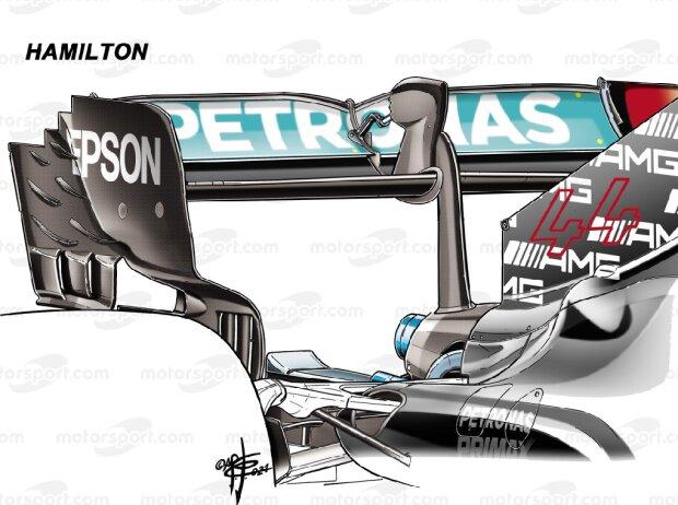 Mercedes-Heckflügel