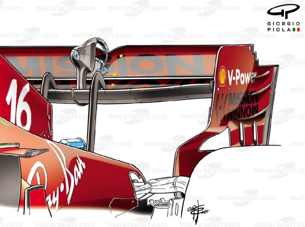 Ferrari-Heckflügel