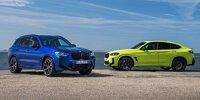 BMW X3 M und X4 M Competition