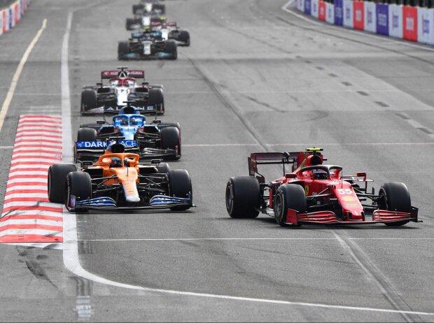 Carlos Sainz, Daniel Ricciardo, Fernando Alonso