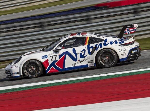 Leon Köhler beim Rennen des Porsche-Carrera-Cup in Spielberg 2021
