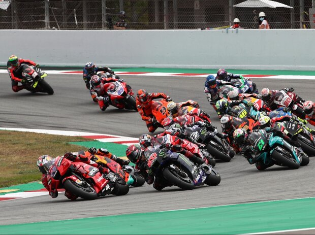 MotoGP-Start in Barcelona