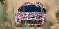 Testauto von Toyota für das Rally1-Reglement der WRC 2022