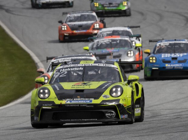 Laurin Heinrich beim Rennen des Porsche-Carrera-Cup in Spielberg 2021
