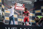 Michael Ruben Rinaldi mit Ducati-CEO Claudio Domenicali