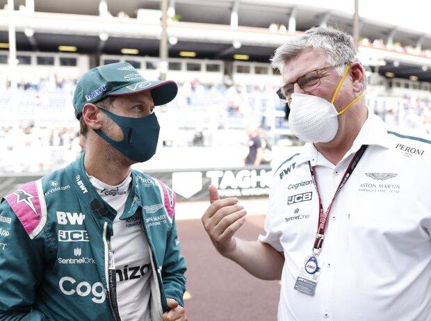 Sebastian Vettel, Otmar Szafnauer