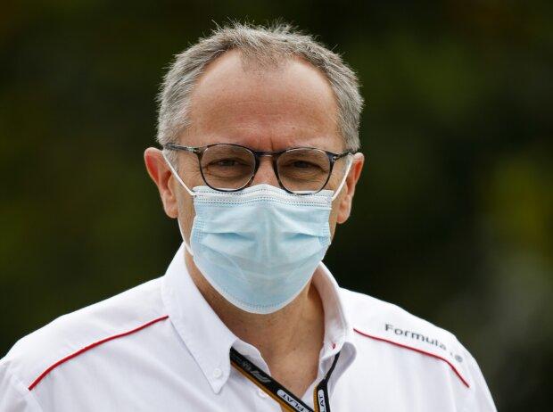 Stefano Domenicali beim Grand Prix von Aserbaidschan in Baku 2021