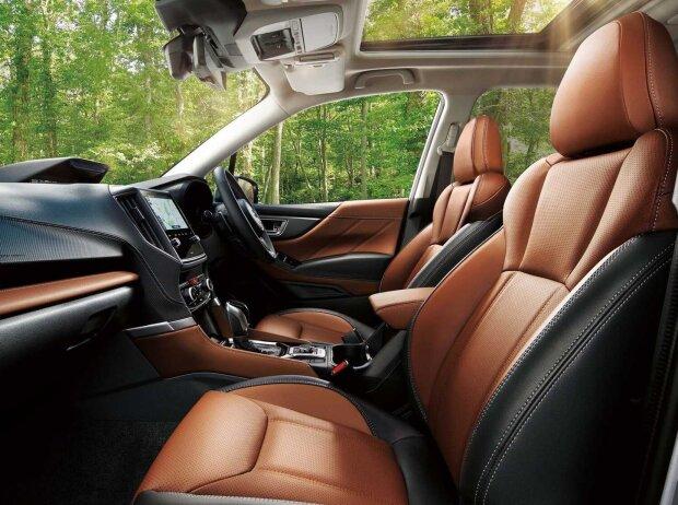 Subaru Forester (2022) für Japan