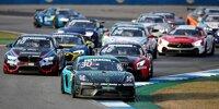Start beim Rennen der DTM-Trophy 2020 auf dem Hockenheimring