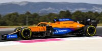 Lando Norris (McLaren)  im Training zum Großen Preis von Frankreich in Le Castellet