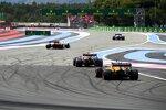Lando Norris (McLaren), Sergio Perez (Red Bull) und Daniel Ricciardo (McLaren)