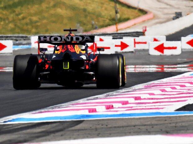 Max Verstappen im Freien Training zum Grand Prix von Frankreich in Le Castellet (Paul Ricard) 2021