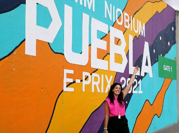 Formel-E-Fan in Puebla