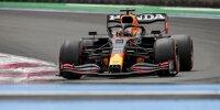 Max Verstappen im Training zum Grand Prix von Frankreich in Le Castellet (Circuit Paul Ricard) 2021