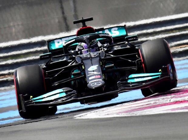 Lewis Hamilton (Mercedes) in Le Castellet (Frankreich)