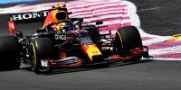 Sergio Perez im Red Bull RB16B beim Frankreich-Grand-Prix 2021 in Le Castellet
