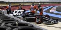 Yuki Tsunoda nach seinem Qualifying-Unfall beim Frankreich-Grand-Prix 2021 in Le Castellet