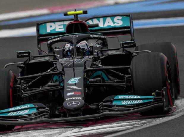 Valtteri Bottas im Mercedes W12 beim Frankreich-Grand-Prix 2021 in Le Castellet