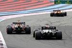 Daniel Ricciardo (McLaren), Sergio Perez (Red Bull) und Lewis Hamilton (Mercedes)