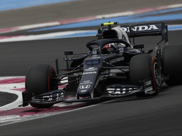 Pierre Gasly im AlphaTauri AT02 beim Frankreich-Grand-Prix 2021 in Le Castellet