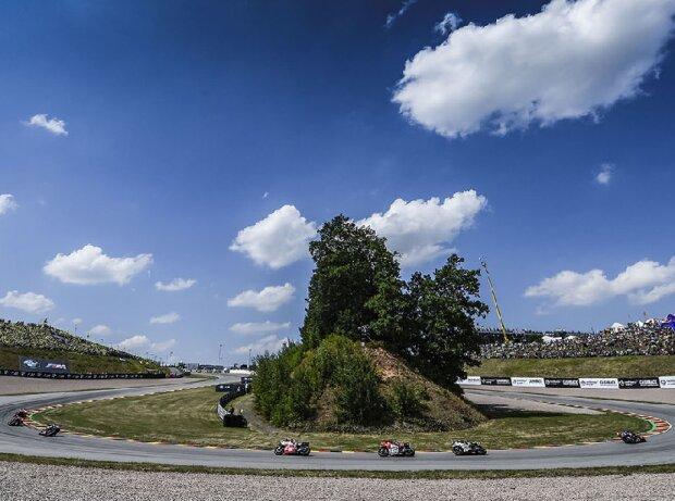 MotoGP-Action auf dem Sachsenring