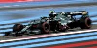 Sebastian Vettel (Aston Martin) im Qualifying zum Großen Preis von Frankreich in Le Castellet
