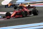 Charles Leclerc (Ferrari) und Daniel Ricciardo (McLaren)